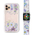Flowers Bloom - Frosted Bumper Case and Watch Band