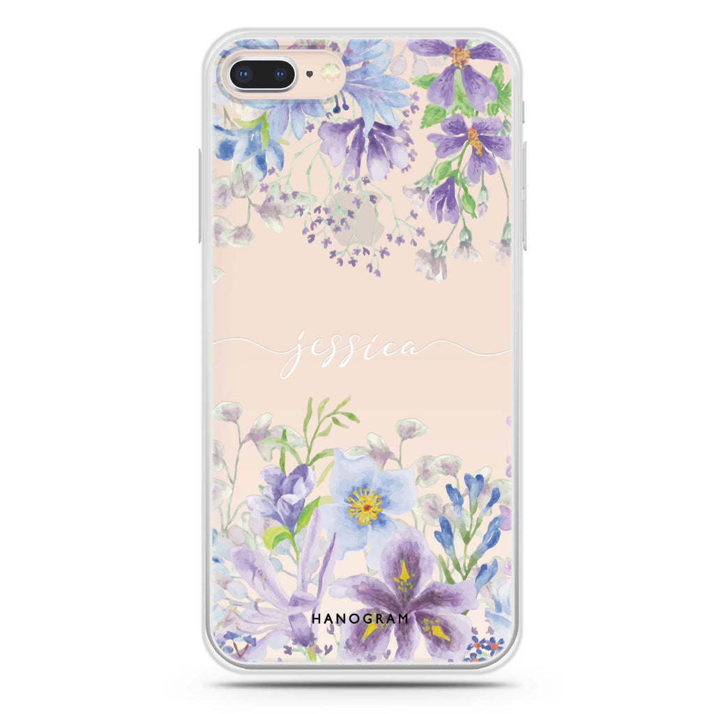 Flowers Bloom iPhone 7 Plus Soft Clear Case