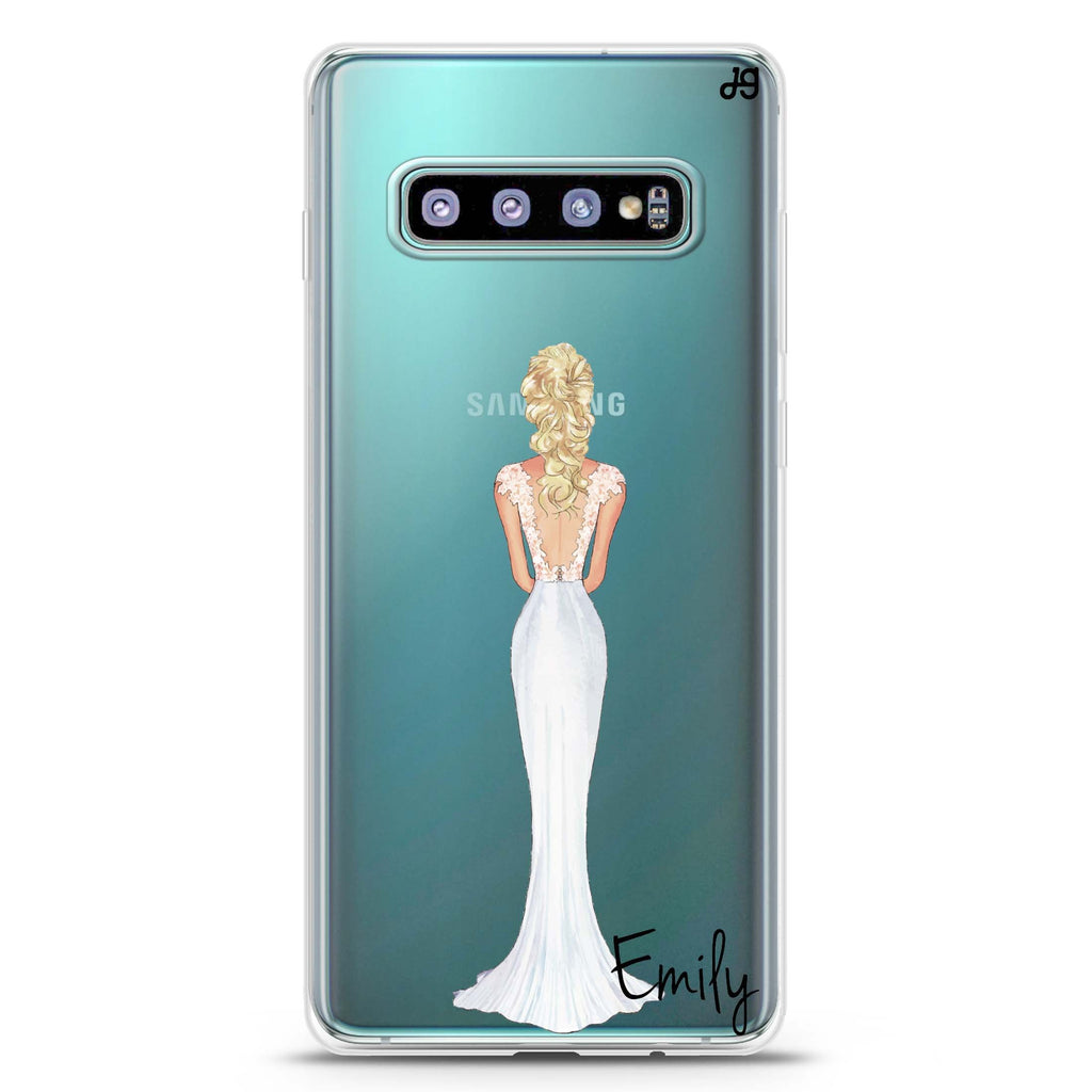 Bride Moment I Samsung S10 Plus Soft Clear Case