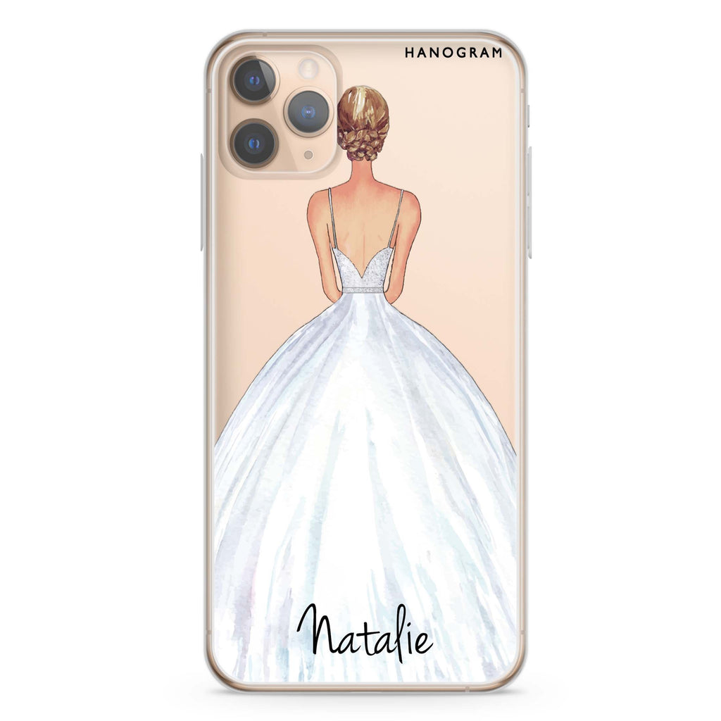 Bride Moment II iPhone 11 Pro Max Soft Clear Case