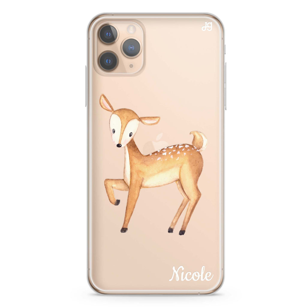 Funny Deer iPhone 11 Pro Max Soft Clear Case
