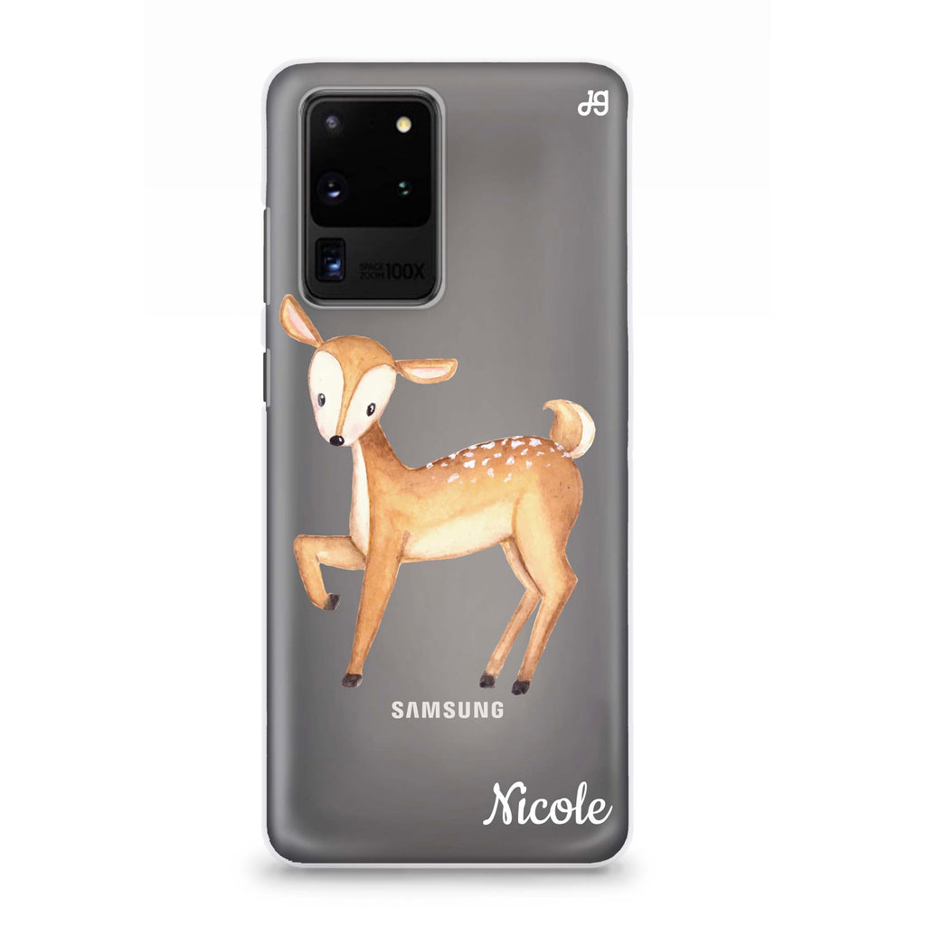 Funny Deer Samsung S20 Ultra Soft Clear Case
