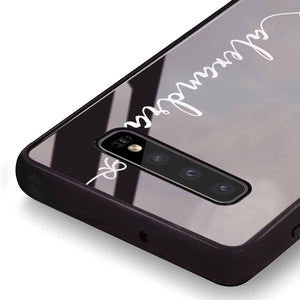 Think Different Samsung S10 Plus Glass Case