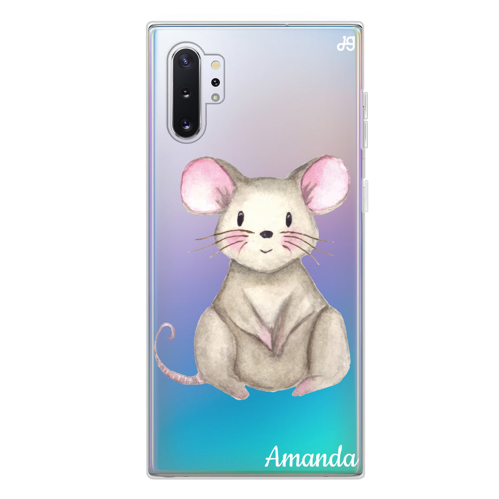 Little Mouse Samsung Note 10 Plus Soft Clear Case
