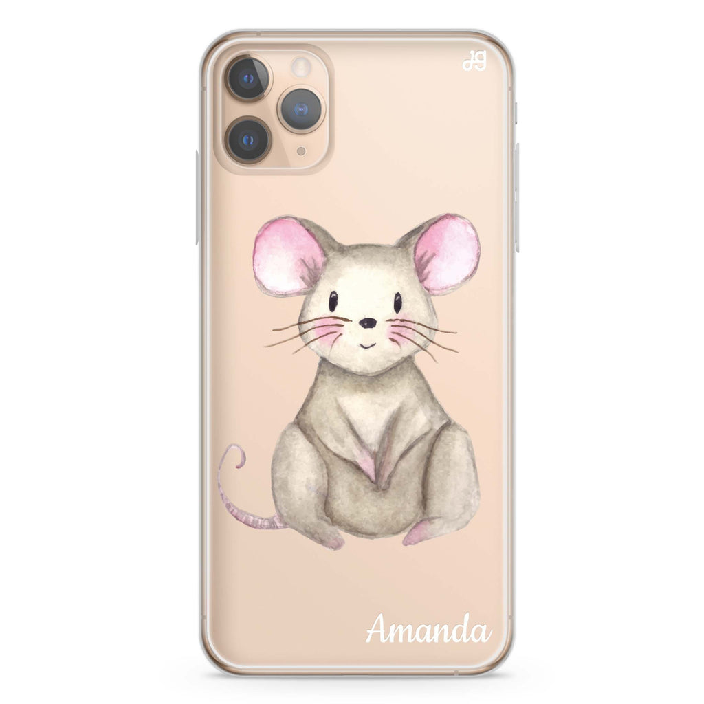 Little Mouse iPhone 11 Pro Max Soft Clear Case