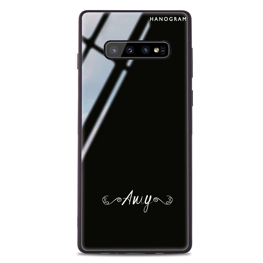 Motto Samsung S10 Plus Glass Case