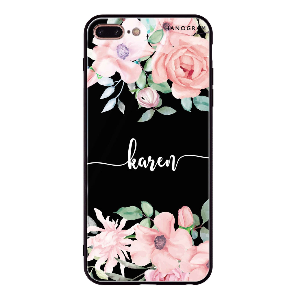 Forever Love Rose iPhone 7 Plus Glass Case