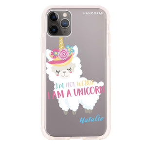 I am a llamacorn Frosted Bumper Case
