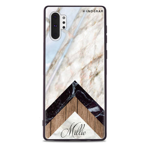 White Marble Transparent Custom iPhone Case