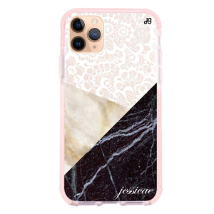 Marble Lace Frosted Bumper Case