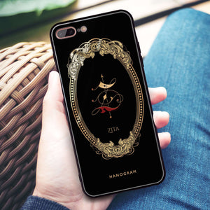 Gothic Ornamental iPhone 8 Plus Glass Case