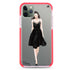 Black lace girl II Shockproof Bumper Case