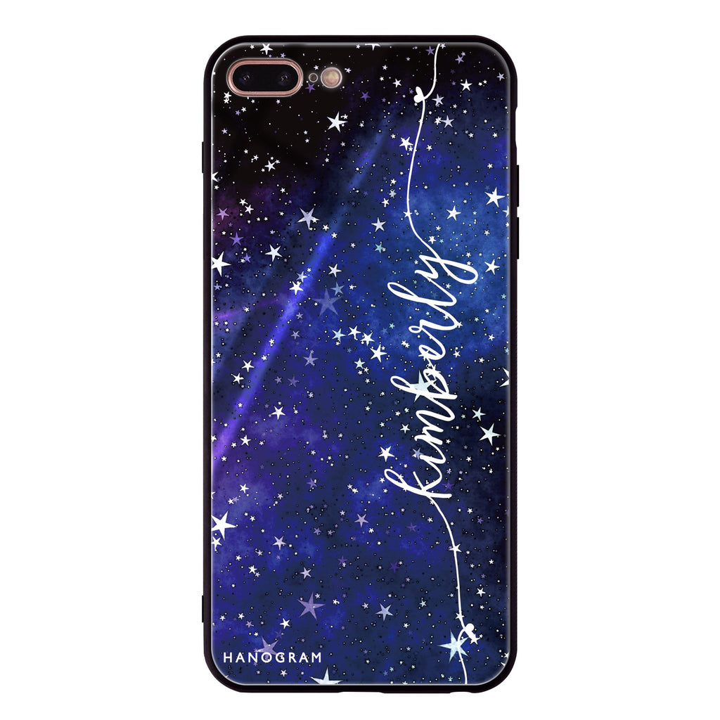 Stardust iPhone 8 Plus Glass Case