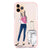 Travel girl II Frosted Bumper Case