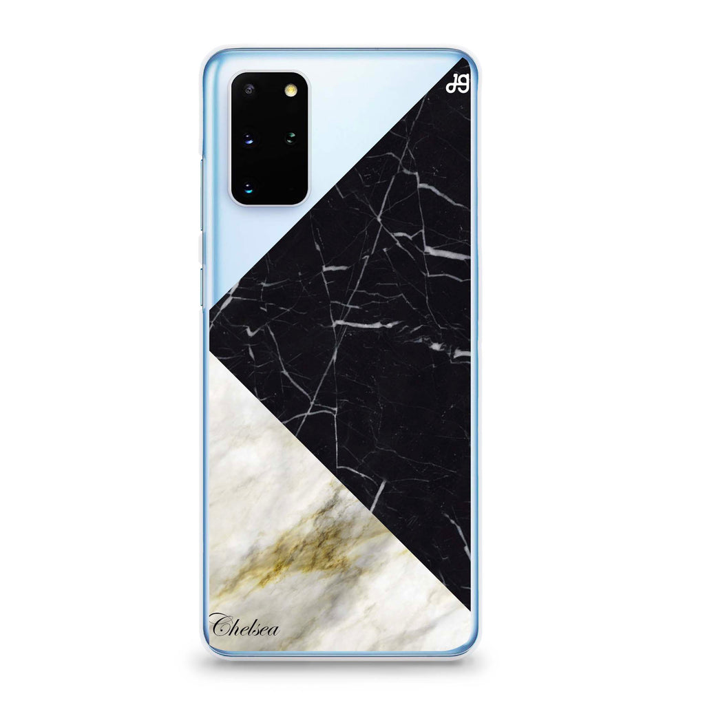 Marble Mix Samsung S20 Plus Soft Clear Case