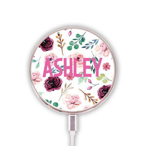 Floral Fantasy Wireless Charger