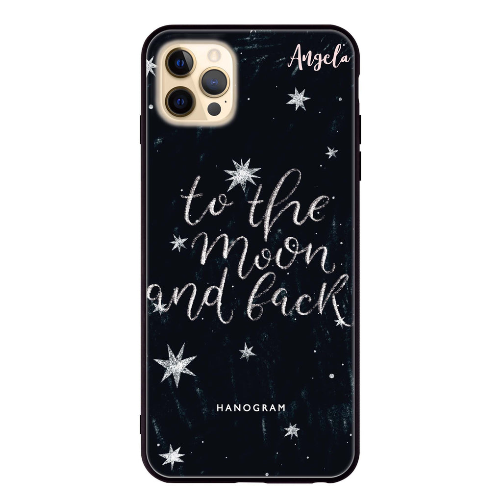 To the moon and back Glass Case