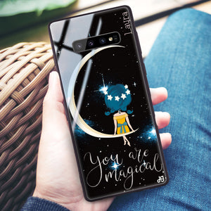 You are magical Samsung S10 Plus Glass Case