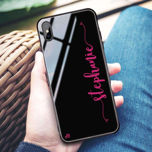 Glamorous iPhone XS Max Glass Case