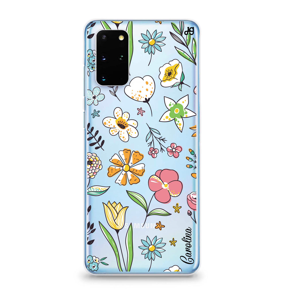Spring Moment Samsung S20 Plus Soft Clear Case