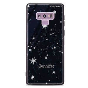 Unicorn Night Samsung Note 9 Glass Case