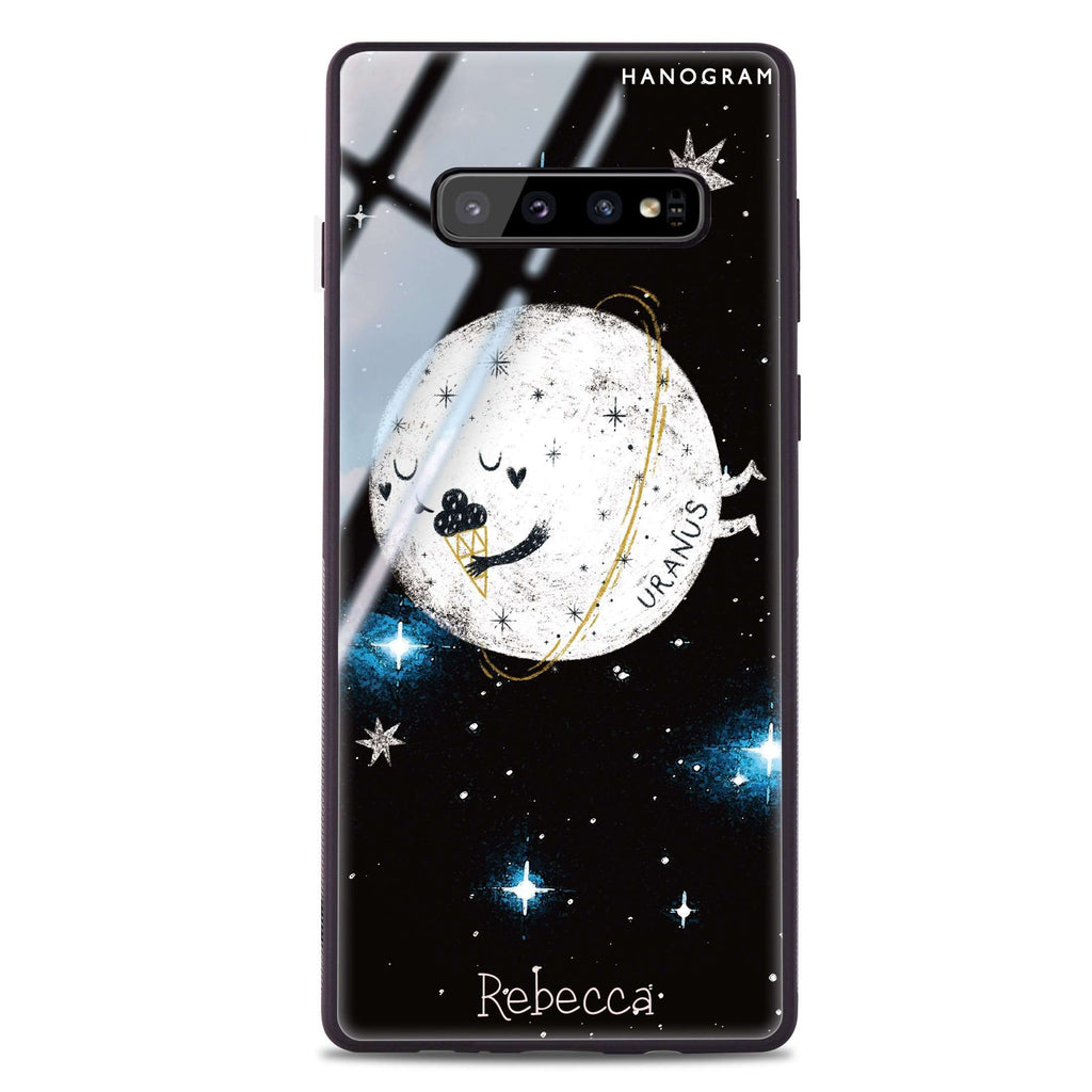 Funnt Uranus Samsung S10 Plus Glass Case