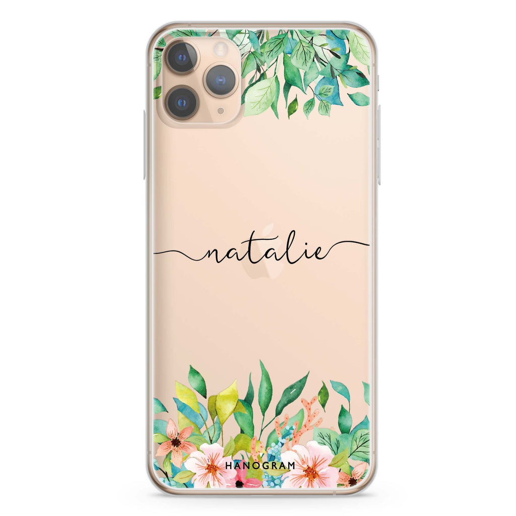 Floral Imagination iPhone 11 Pro Max Soft Clear Case