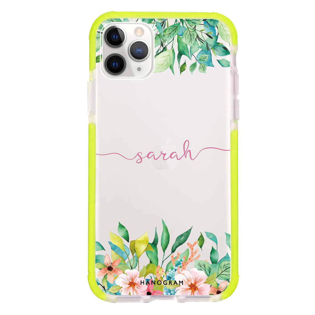Floral Imagination Shockproof Bumper Case