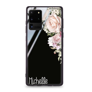 Elegant Rose I Samsung Glass Case