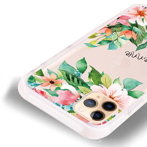 Flower Inspiration Frosted Bumper Case