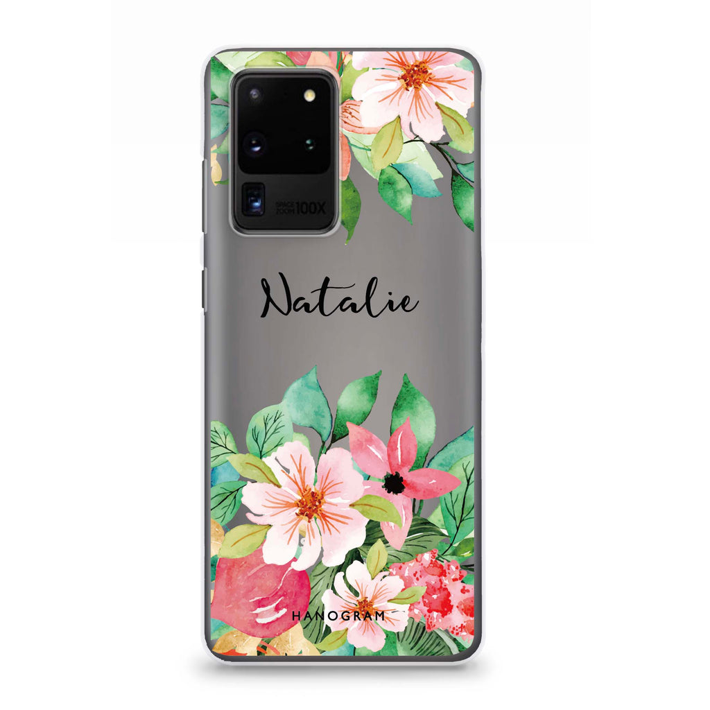 Floral Life Samsung S20 Ultra Soft Clear Case