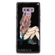 Skater Girl Samsung Note 9 Glass Case