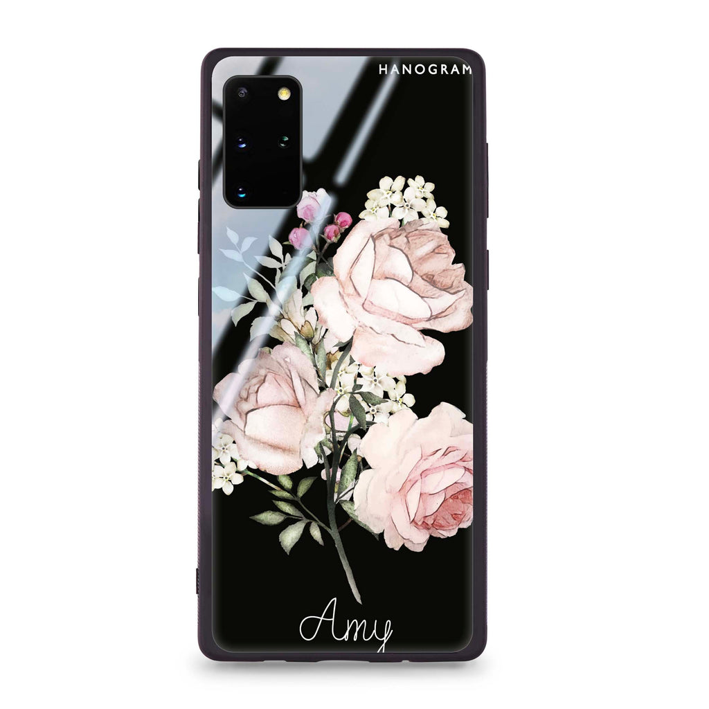 Elegant Rose II Samsung S20 Plus Glass Case