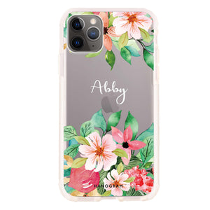 Floral Life Frosted Bumper Case