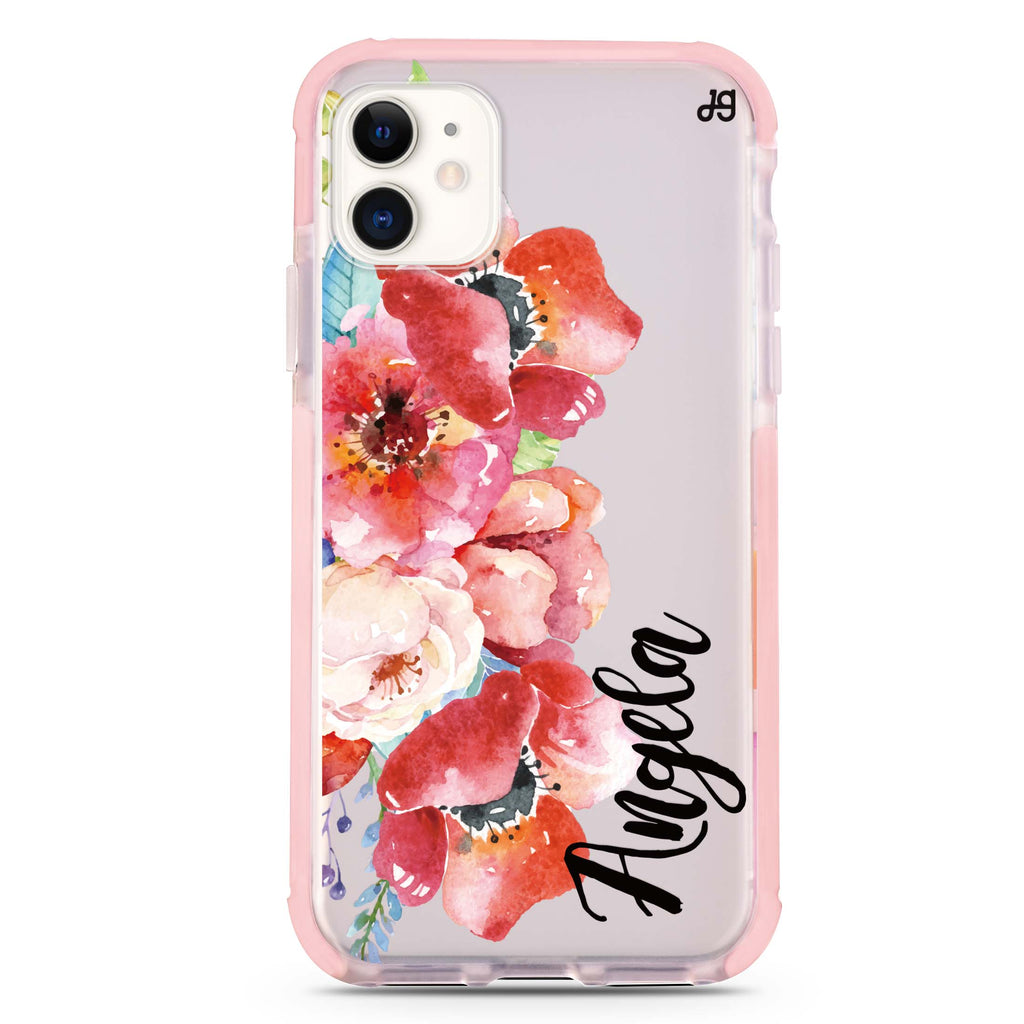 Poppies iPhone 11 Shockproof Bumper Case