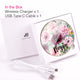 Elegant Floral III Wireless Charger