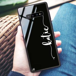 Glamorous Samsung S10 Plus Glass Case