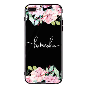 Floral Dream I iPhone 8 Plus Glass Case