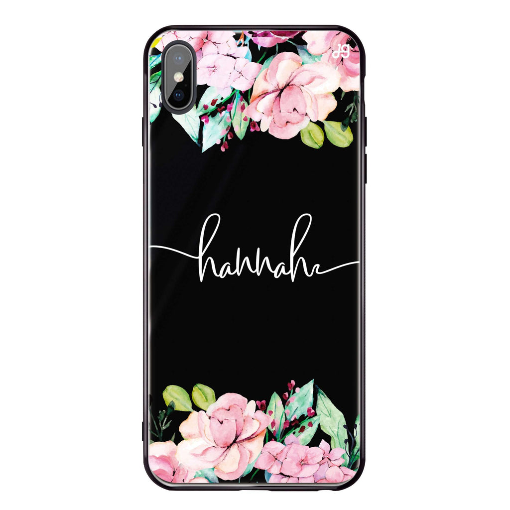 Floral Dream I iPhone XS Max Glass Case