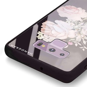 Elegant Rose II Samsung Note 9 Glass Case