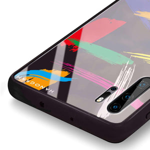 Brush Paint Huawei Glass Case