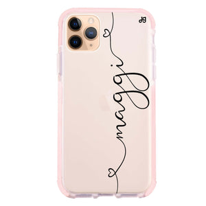 Loving Heart I Frosted Bumper Case