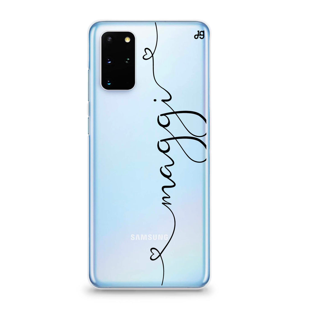 Loving Heart I Samsung S20 Plus Soft Clear Case