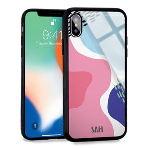 Trendy Abstract II iPhone XS Max Glass Case