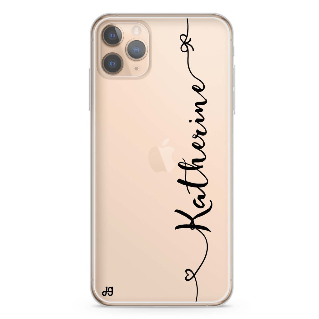 Think Different iPhone 11 Pro Max Soft Clear Case