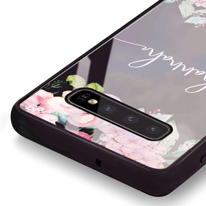 Floral Dream I Samsung S10 Plus Glass Case