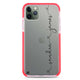 Love with Heart Frosted Bumper Case