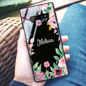Floral Dream II Samsung S10 Plus Glass Case
