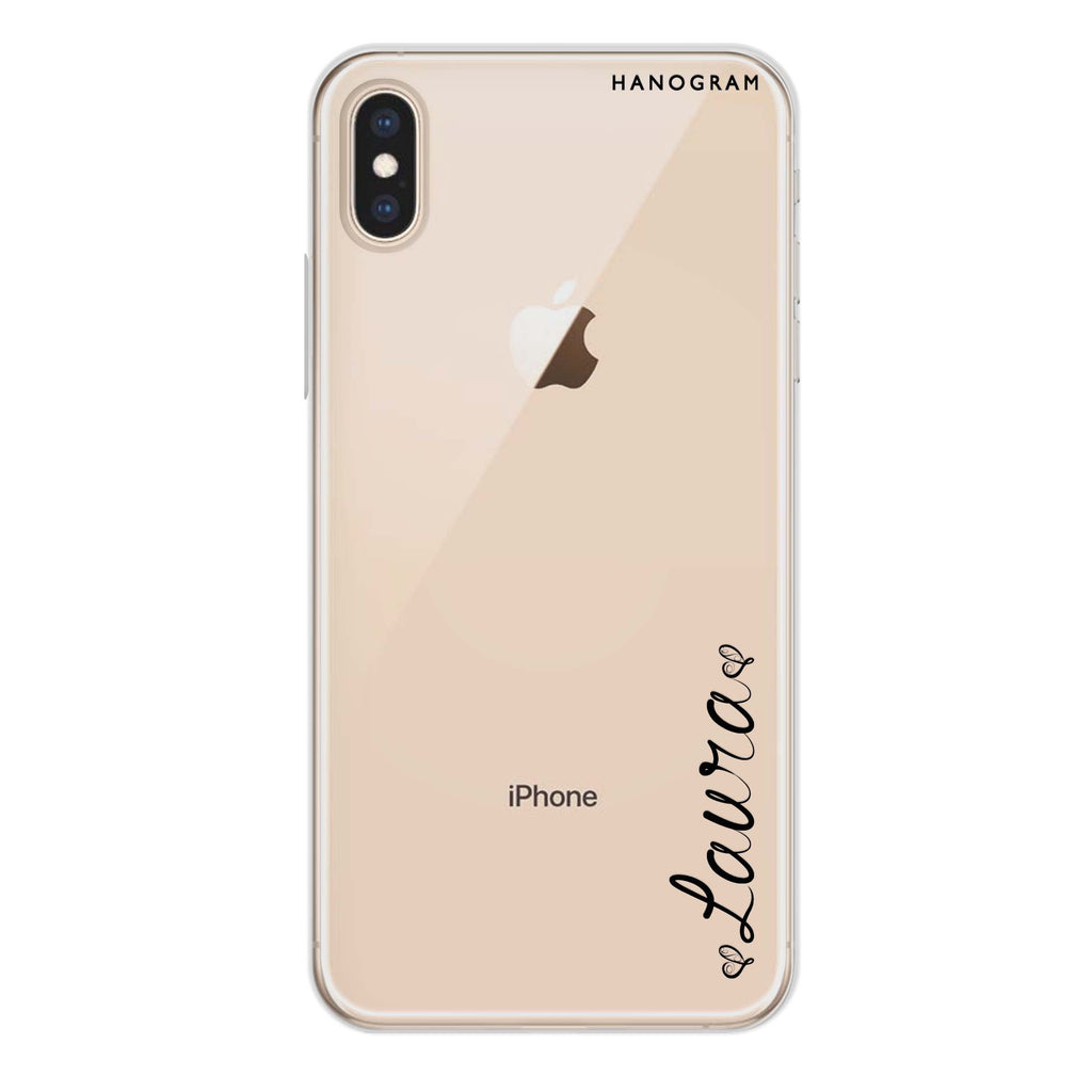 In my heart iPhone XS Soft Clear Case