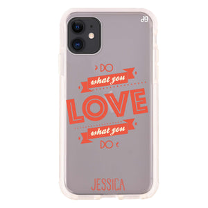 Handwritten You And Me Custom iPhone 8 Plus Case